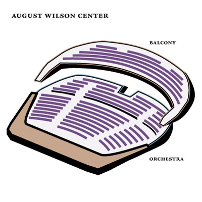 August Wilson Center Seating Chart