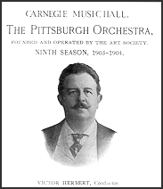 Victor Herbert at Carnegie Music Hall