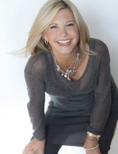 Olivia Newton-John with the PSO