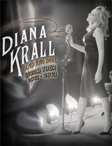 BNY Mellon Jazz presents Diana Krall Glad Rag Doll World Tour 2013