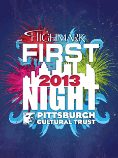 Highmark First Night Pittsburgh 2013 Buttons
