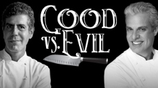 Anthony Bourdain and Eric Ripert: Good vs. Evil