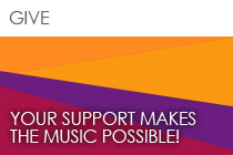 Give | Your Support Makes the Music Possible