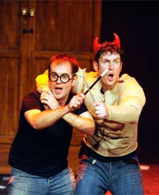POTTED POTTER, The Unauthorized Harry Experience: A Parody by Dan & Jeff