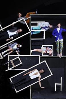 ZIMMERMAN & DE PERROT Workshop with dancer and acrobat Dimitri Jourde