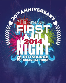 Highmark First Night Pittsburgh 2014 Buttons