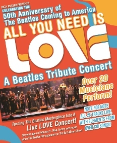 ALL YOU NEED IS LOVE: A Beatles Tribute Concert