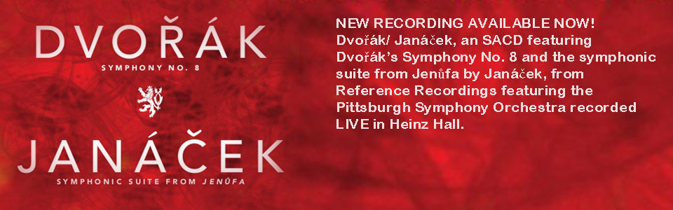 Dvorak Symphony No. 8 & Janacek Symphonic Suite from Jenufa CD Available