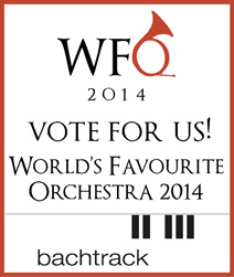 Vote For Us!  World's Favourite Orchestra Contest 2014
